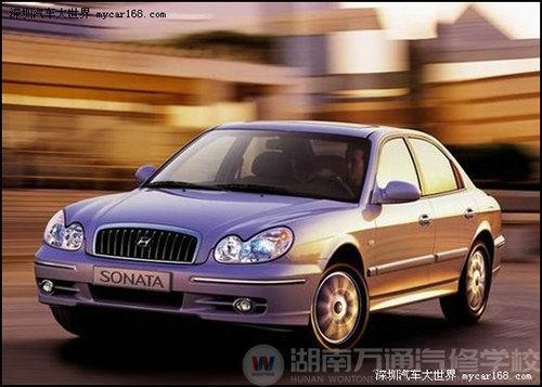 现代索纳塔汽车发动机怠速不稳故障检修