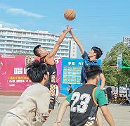 汽修学校-精彩篮球