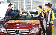 汽车美容抛光视频_湖南汽车培训学校_正规汽修培训学校