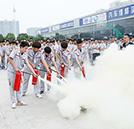 全员消防 安全至上——湖南U乐国际娱乐消防安全演练