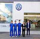 【就业回访】韩顺进口大众4S店回访就业学子