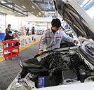 湖南万通学子参加汽车维修工中级证书考试