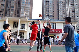 校园活动-篮球赛