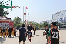 湖南万通第三届篮球赛